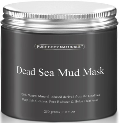 Pure Body Naturals Dead Sea Mud Mask Best For Facial Treatment