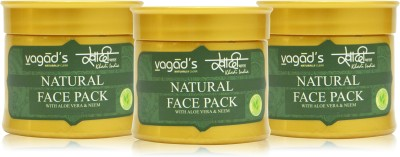 Khadi Natural Neem Face Pack [ pack of 3 ] 100 gm