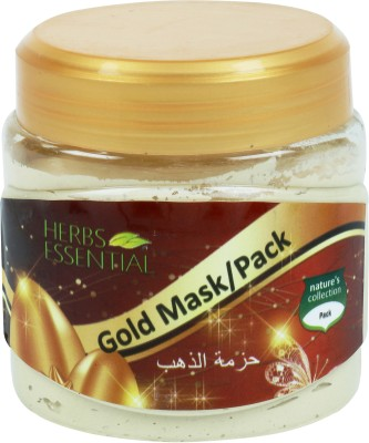 Herbs Essential Gold Face Mask