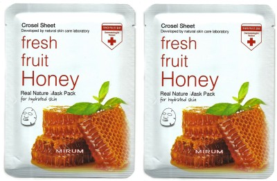 Mirum Honey Real Natural Mask Pack