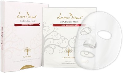 LuxaDerme Bio Cellulose Mask Skin Brightening