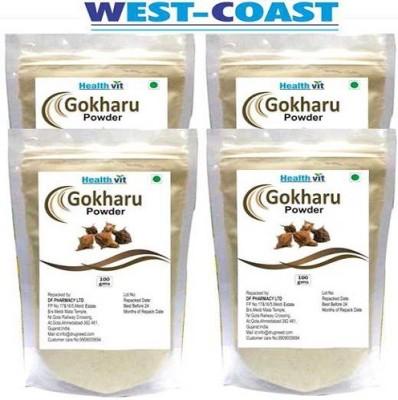 West-Coast Healthvit Gokharu (Tribulus) Powder 100gms Pack Of 4