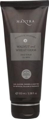 Mantra Walnut & Wheat Germ Face Scrub For Men