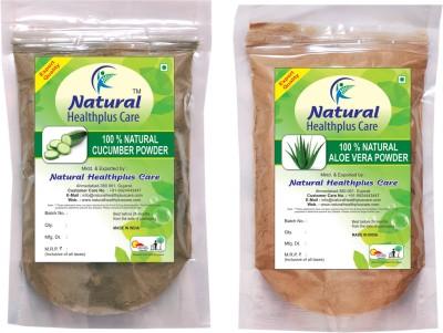Natural Healthplus Care AloeVera Cucumber Powder Combo