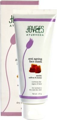 Jovees Sandal, Saffron & Honey Anti Ageing Mask