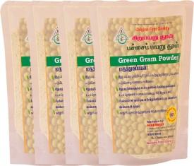 N-Herbals Green Gram Powder- Pack of 4