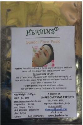 Herbins Sandal Face Pack