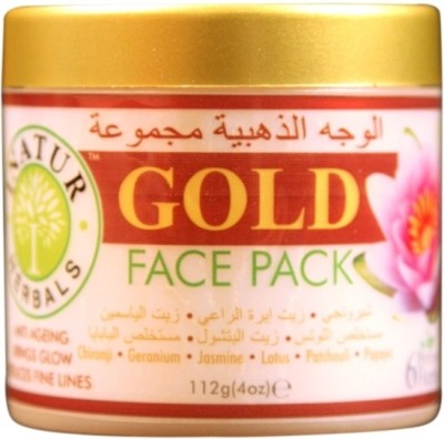 Inatur Herbals Gold Face Pack