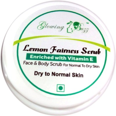 Glowing Buzz Lemon Fairness  Scrub