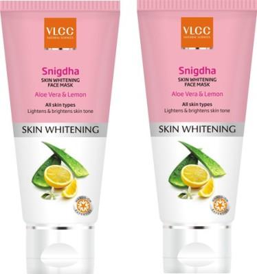 VLCC Snigdha Skin Whitening Face Mask pack of 2