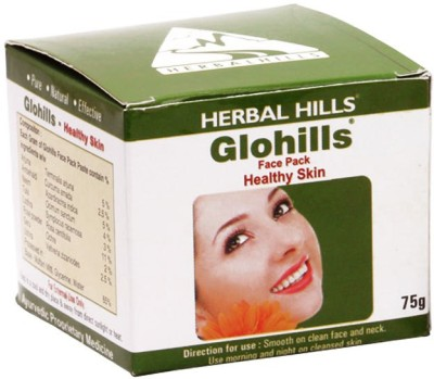 Herbal Hills Glohills Face Pack for Healthy Skin