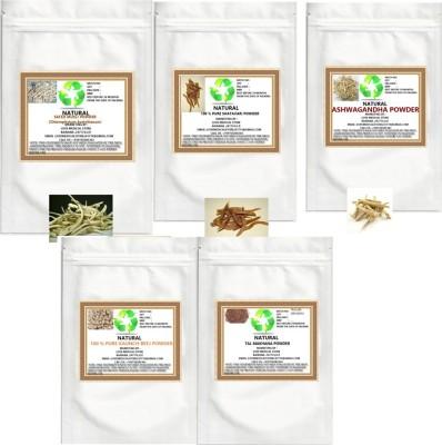 Natural General Fitness(Ashwagandha, Shatavari, Safed Musli, kaunch seed,Talmakhana) Powder