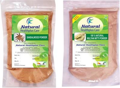 Natural Healthplus Care Sandal Multani Powder Combo