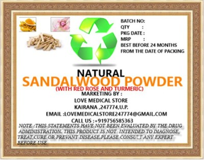 Natural Sandal Powder