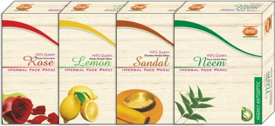 Khadi Natural Hill,S Queen Rose-Lemon-Sandal-Neem Face Pack