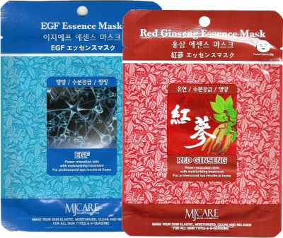 MJ CARE Skin Tightening And Brightening Essence Sheet Mask