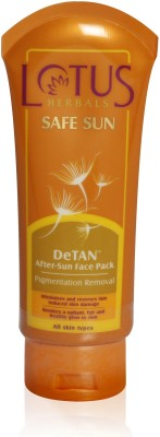 Lotus Safe Sun De-Tan Face Pack
