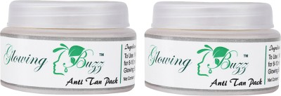 Glowing Buzz Combo of 2 Natural Anti Tan Pack for Face, Dark Under Arms and Hands