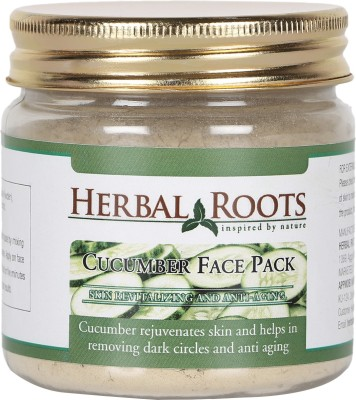 Herbal Roots Anti Ageing Cucumber Face Pack