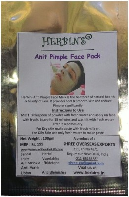 Herbins Anti Pimple Face Pack