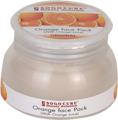 Sogo Cure Face pack with orange juice(80 g)