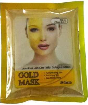 Skin Doctor Glod Mask For Skin Whitening With Collagen Extract