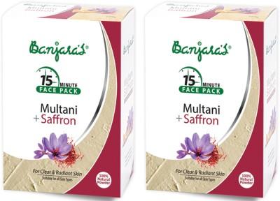 Banjaras Multani With Saffron 100gms Set Of 2 Pack