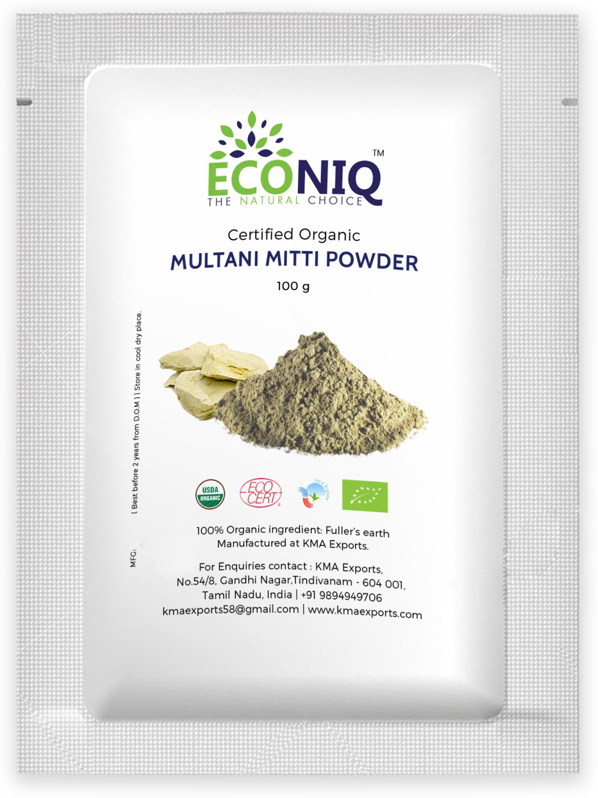 Econiq Multani Mitti�powder(100 g)