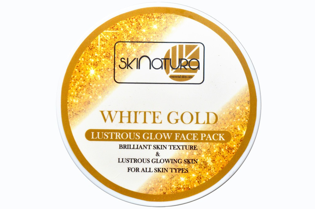 Skinatura white gold lustrous glow face pack(480 g)