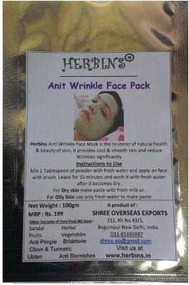 Herbins Anti Wrinkles Face Pack