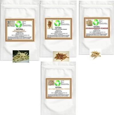 Natural General Fitness(Ashwagandha, Shatavari, Safed Musli, kaunch seed) Powder