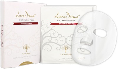 LuxaDerme Bio Cellulose Mask Skin Brightening (4 Sachet)