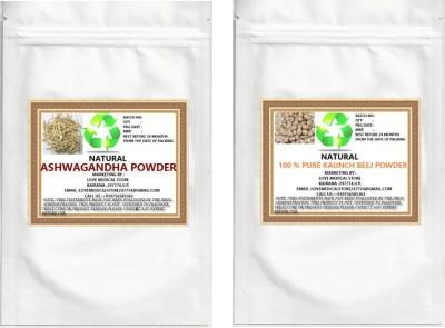 Natural Kaunch Seeds & Ashwagandha Powder