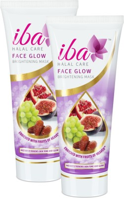 Iba Halal Care Face Glow Brightening Mask (Pack Of 2)