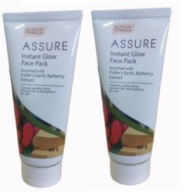 Assure Instant Glow Face Pack (Pack Of 2)