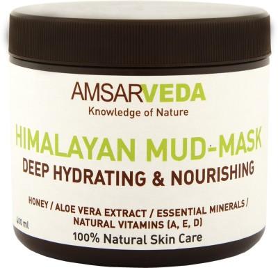 Amsarveda Himalayan Mud-Mask - Deep Hydrating & Nourishing