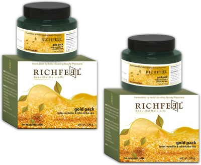 Richfeel Gold Pack 100g (Set Of 2)