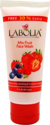 Labolia Mix Fruit Face Wash - 1 Nos. - For All Skin Type - (1 X 65 ML)