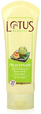 Lotus Frujuvenate Skin Perfecting and Rejuvenating Fruit Pack