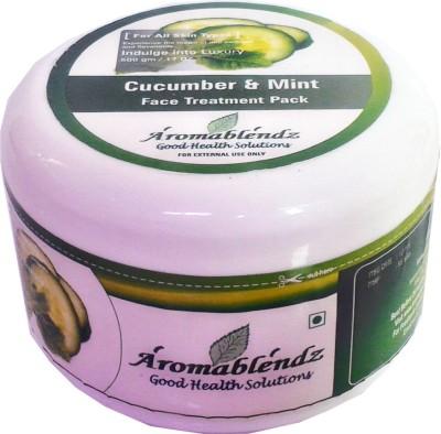 Aromablendz Cucumber & Mint Face treatment pack