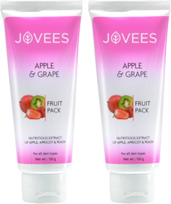 Jovees Apple & Grape Face Pack Combo