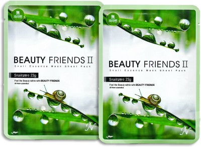 Beauty Friends Snail Essence Mask Sheet Pack