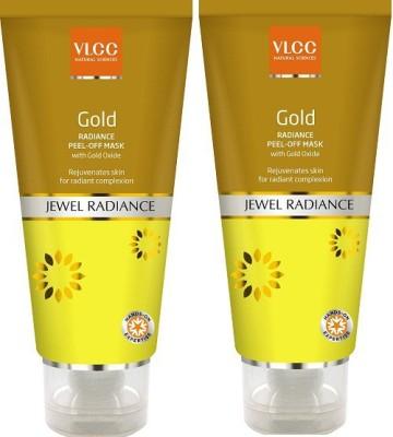 VLCC Gold Radiance Peel Off Mask 80Gm (Pack Of 2)