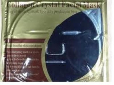 Crystal Collagen Charcoal Black Mud Gel Face Mask