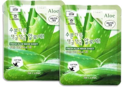 3W CLINIC Fresh Aloe Mask Sheet