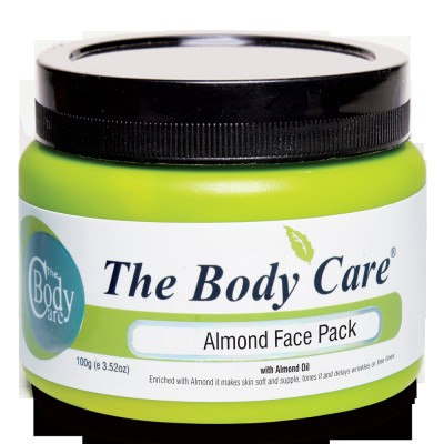 the body care Almond Face Pack 100g