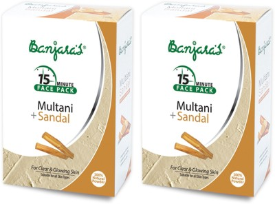 Banjaras Multani With Sandal 100gms Set Of 2 Packs(200 g)