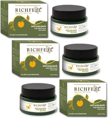 Richfeel Anti Acne Pack 50g (Set Of 3)