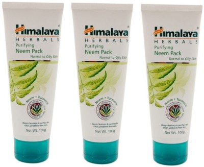 Himalaya Purifying Neem Pack (Pack of 3)