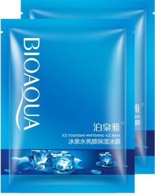 BIOAQUA Ice Fountain Whitening Ice Face Mask